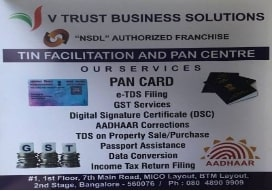 GOODS AND SERVICE TAX (GST) agents in  BTM 2nd Stage,Bangalore | V Trust Business Solutions | Tesz