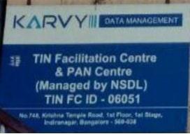 Pan card agent in  Indiranagar, Bangalore | Karvy - Indiranagar