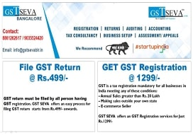 Goods and service tax (gst) agent in  JP Nagar, Bangalore | GST Seva