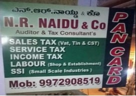 Pan card agent in  K R Puram, Bangalore | N.R Naidu & Co.