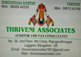 Etds returns agent in  Laggere, Bangalore | Thriveni Associates