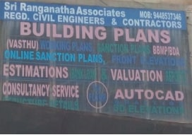 Building plan sanction agent in  Ulsoor, Bangalore | M Ravikumar